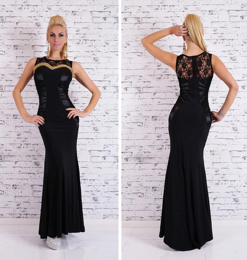 ea5ef658640d Plesové šaty Glamour - černé - EU - Večerní šaty a koktejlové šaty ...