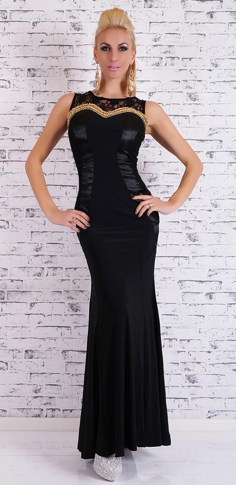 367dba90c32a Plesové šaty Glamour - černé - EU - Večerní šaty a koktejlové šaty - i ...