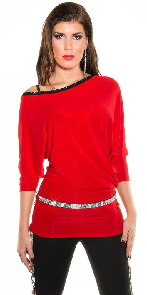 48df0acf5a8e Červená elegantná tunika - Koucla - Tuniky - vasa-moda.sk