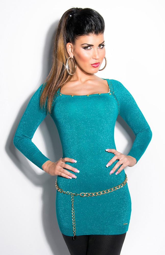 886a74c524ad Tunika dámská -smaragdová. Domů ›  Dámské oblečení ›  Dámské tuniky ...