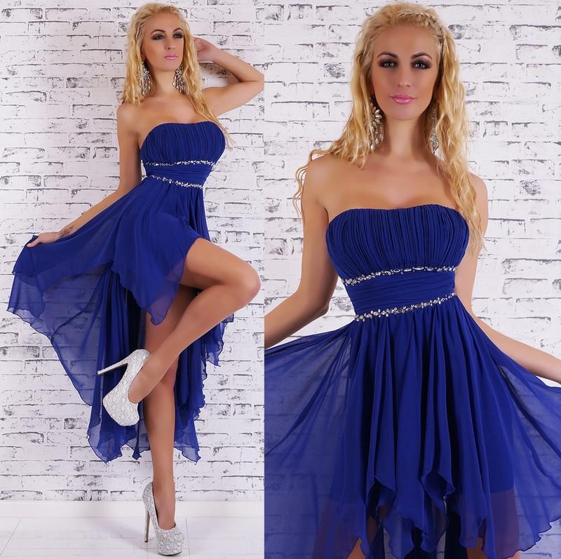 fe72087de8df Plesové šaty - modré - EU - Dlhé plesové šaty - vasa-moda.sk