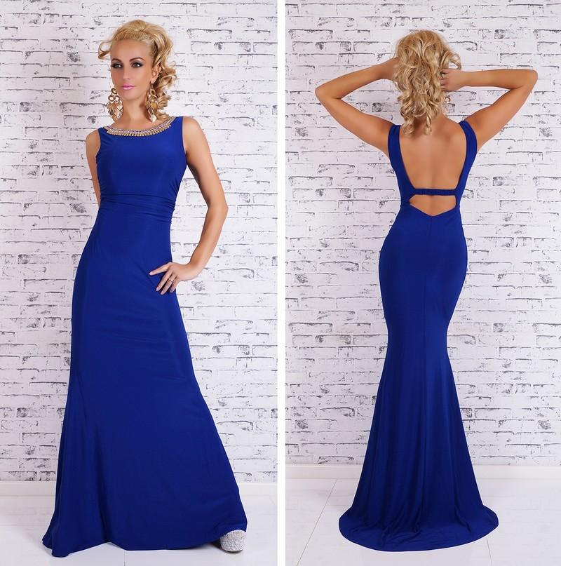 95bc17ef3ccc Večerné šaty dlhé - modré - EU - Večerné šaty a koktejlové šaty ...
