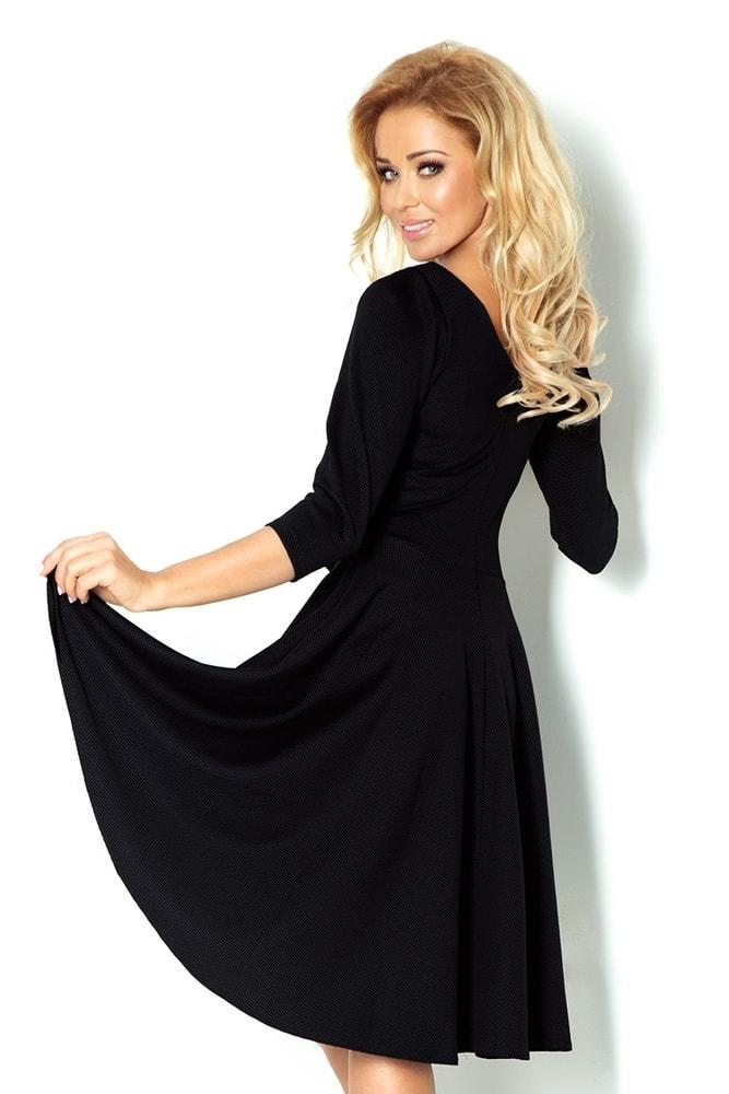 d485c6562 Dámske čierne šaty 90-3 - Numoco - Večerné šaty a koktejlové šaty ...