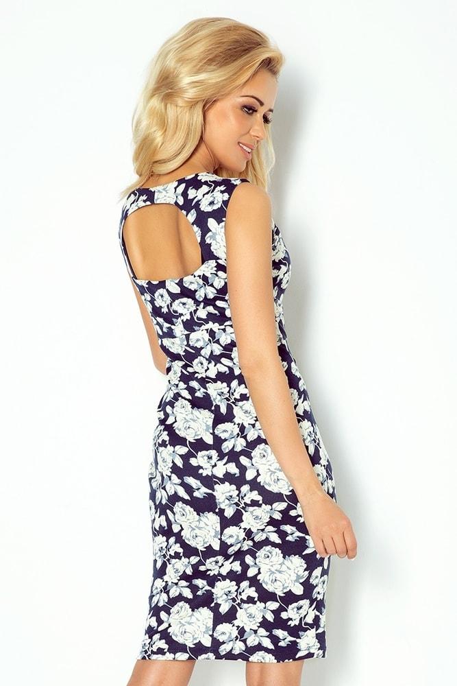 74f3cca1b48a Dievčenské šaty s potlačou 104-2 - Numoco - Krátke letné šaty - vasa ...