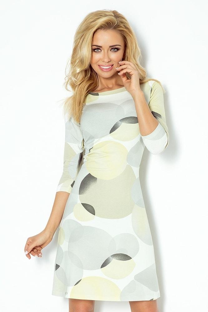 441cf7bb6 Dámske šaty s 3/4 rukávmi 88-9 - Numoco - Šaty pre voľný čas - vasa ...