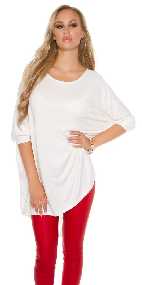 0243365f8b0f Trendy dlhý sveter - Koucla - Dlhé svetre k legínam - vasa-moda.sk