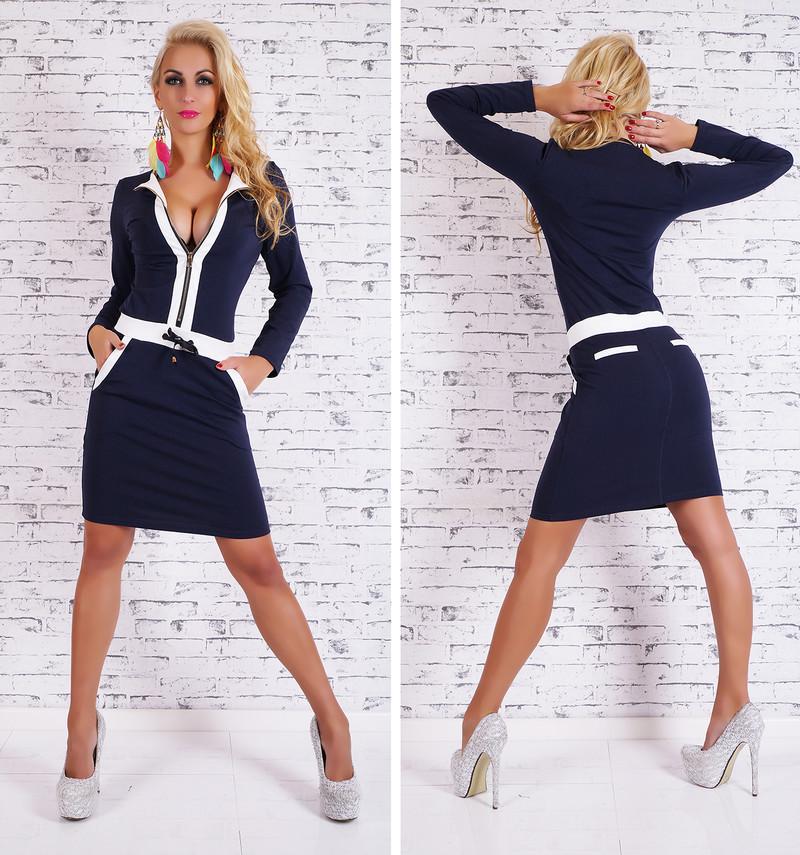 f051c1bd1 Športové dámske šaty - EU - Úpletové šaty - vasa-moda.sk