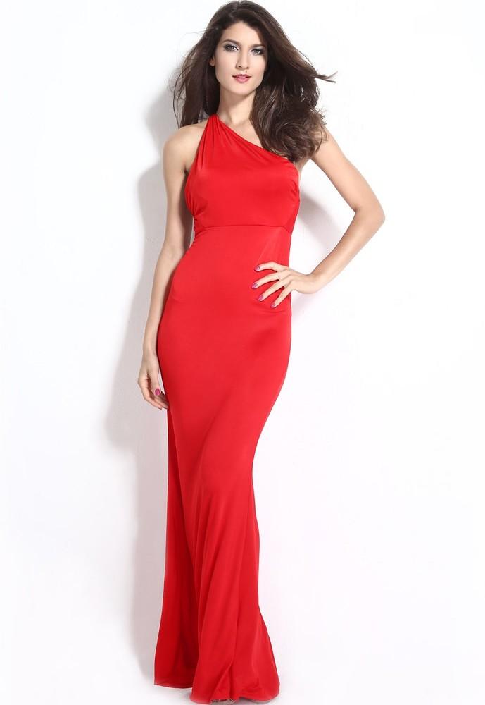 c20439e61cfe Dlhé červené šaty - DAMSON - Dlhé spoločenské šaty - vasa-moda.sk
