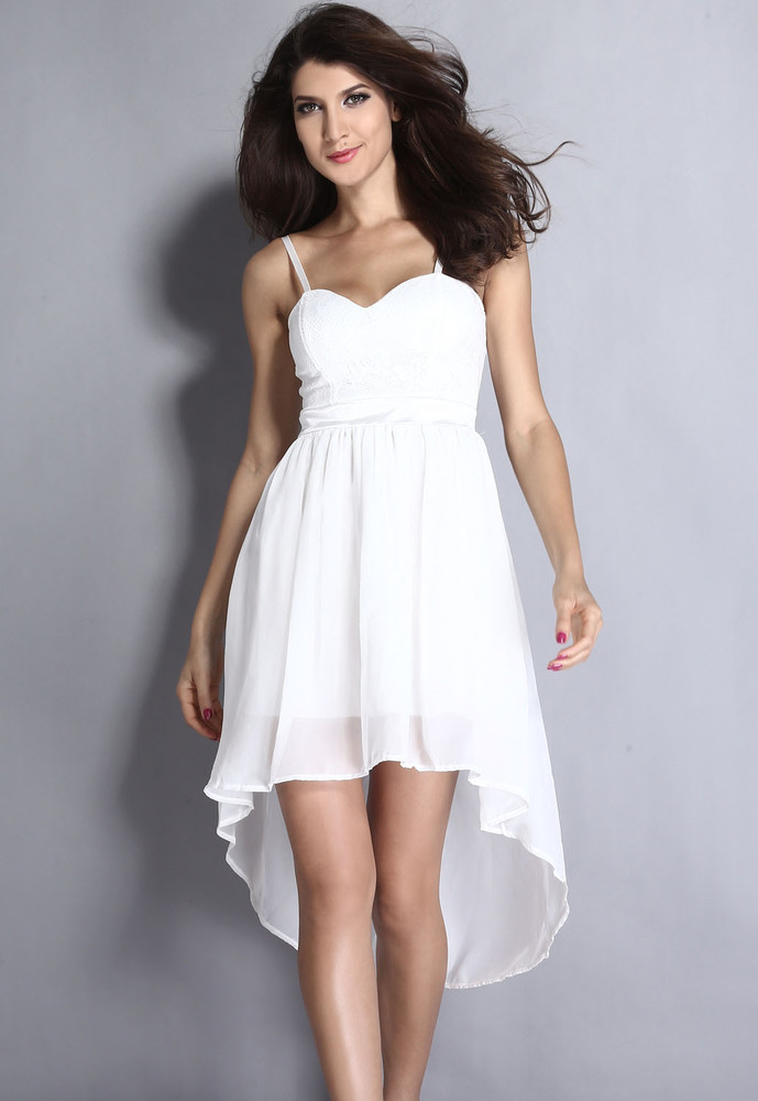 f142310ce217 Biele spoločenské šaty - DAMSON - Večerné šaty a koktejlové šaty ...