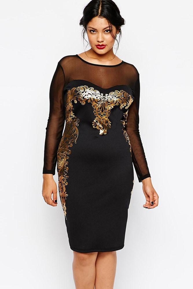 7fc6f7d64908 Večerní dámské šaty pro plnoštíhlé - DAMSON - Večerní šaty a ...