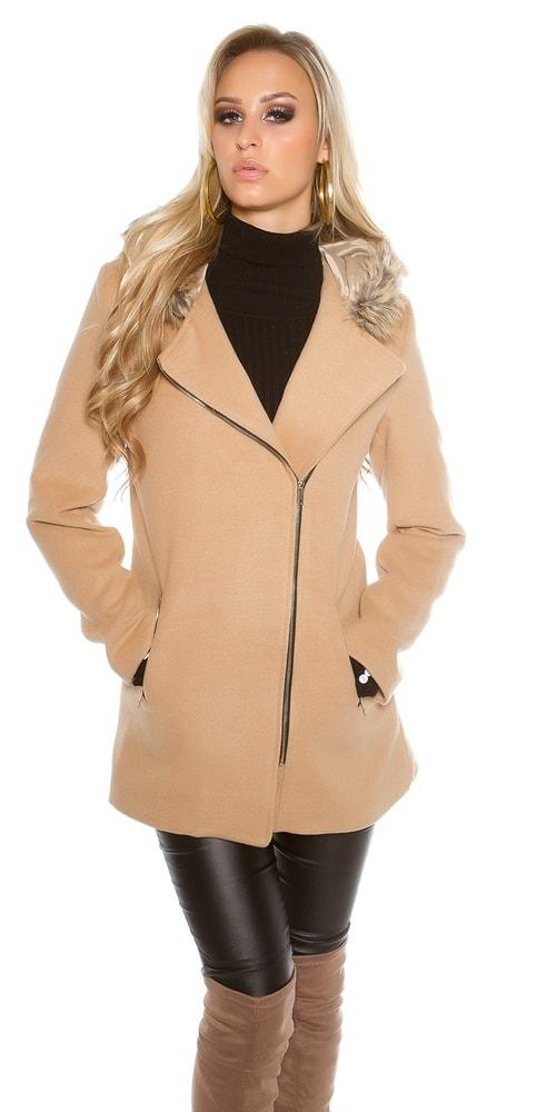 c1369355d88d Dámsky elegantný kabát - Koucla - Dámske kabáty zimné - vasa ...