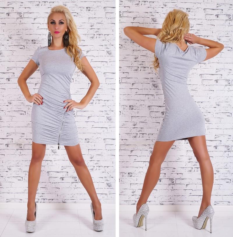 6093ae0850 Bavlnené dámske šaty - Giorgia - Úpletové šaty - vasa-moda.sk