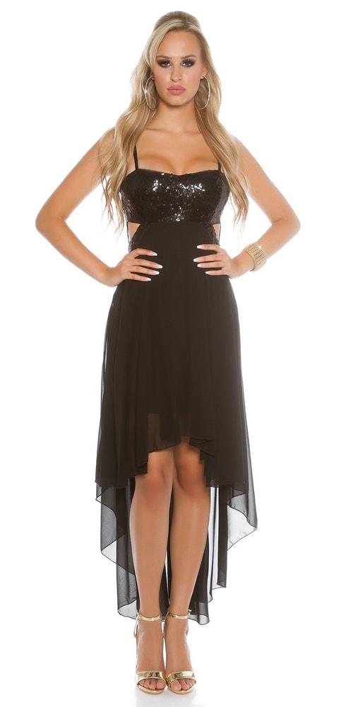fd388e489 Čierne plesové šaty - Koucla - Večerné šaty a koktejlové šaty - vasa ...