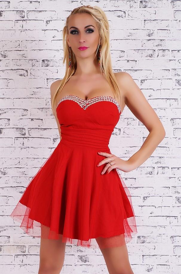 3b55af226b17 Krátke večerné šaty - EU - Krátke plesové šaty - vasa-moda.sk