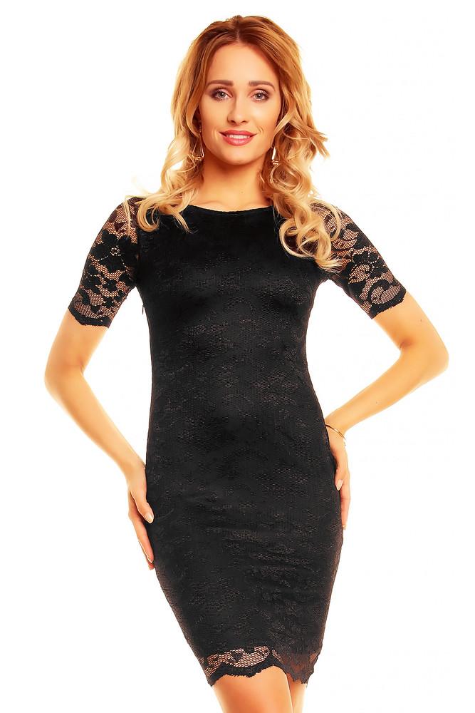 6845f1d0be6b Čierne večerné šaty - Mayaadi - Večerné šaty a koktejlové šaty - vasa ...
