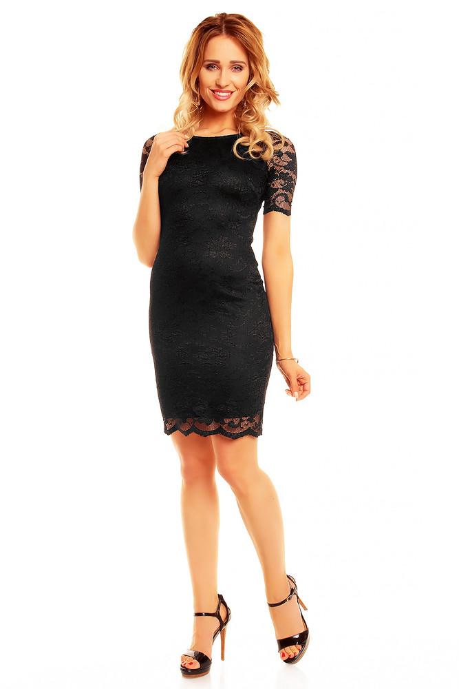 7eccac99e8dd Čierne večerné šaty - Mayaadi - Večerné šaty a koktejlové šaty ...