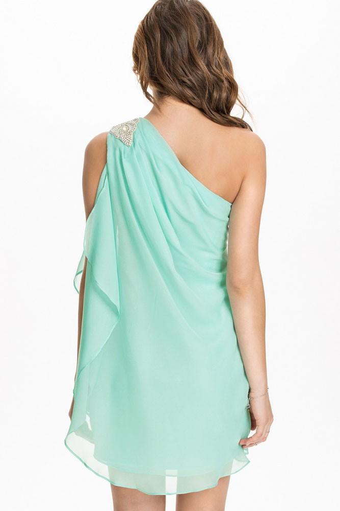 f8ceaeba24d1 Letní šaty na jedno rameno - DAMSON - Večerní šaty a koktejlové šaty ...