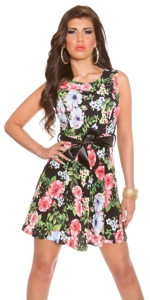 c6824f5674ce Letné šaty - kvety - Koucla - Krátke letné šaty - vasa-moda.sk