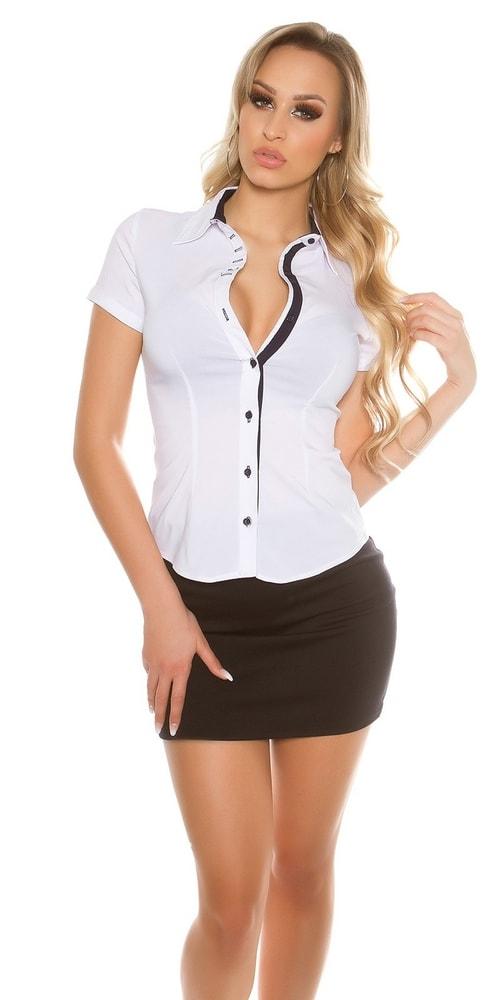 323a7042bd7d Dámska slim košeľa - Koucla - Dámske tuniky a blúzky - vasa-moda.sk