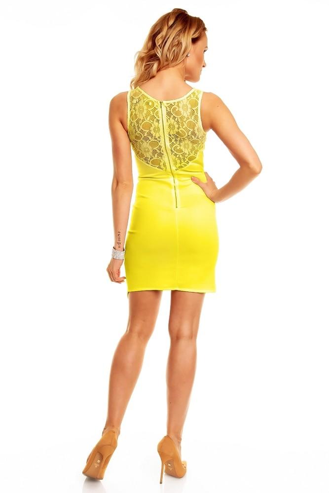 b133d7a82784 Žlté dámske šaty - Graffith - Večerné šaty a koktejlové šaty - vasa ...