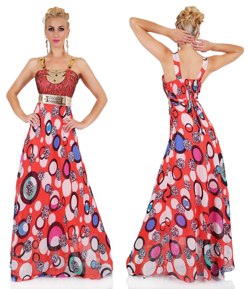 9589b2bd245c Extravagantné dámske šaty - červené - EU - Večerné šaty a koktejlové ...