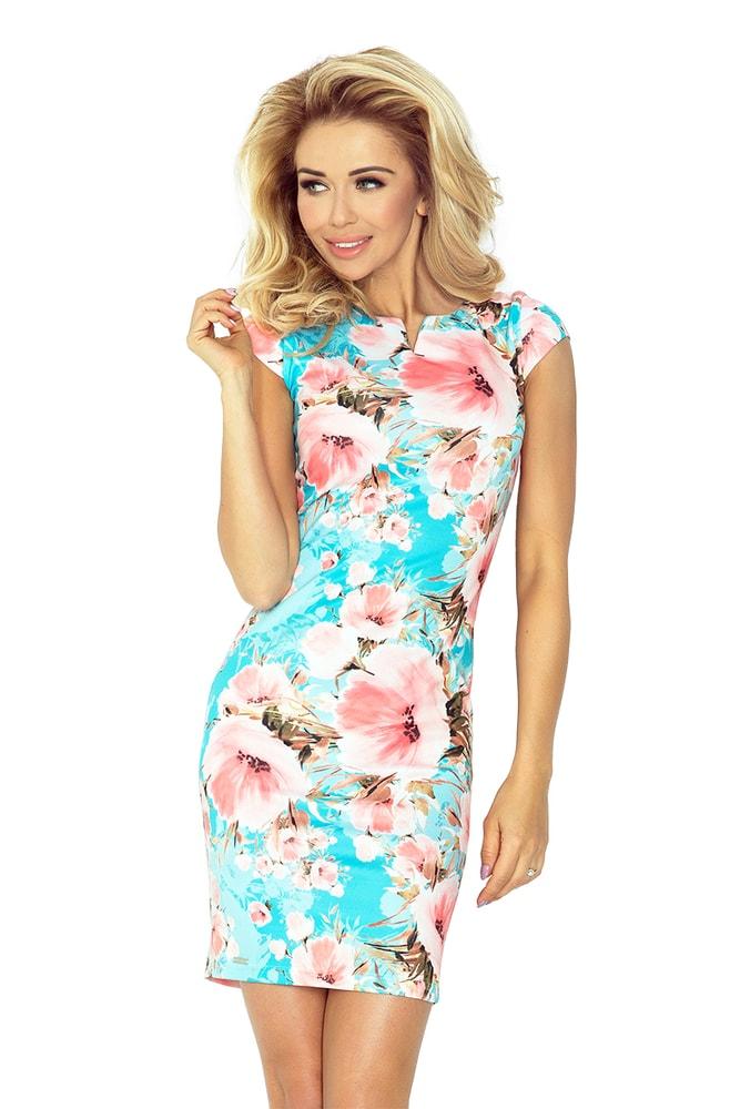 15fffc700970 Elegantné letné šaty - Numoco - Krátke letné šaty - vasa-moda.sk