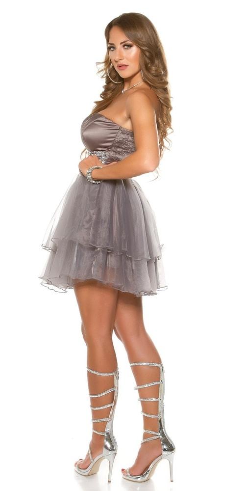 ef335eacb7a5 Šaty na ples krátke - Koucla - Večerné šaty a koktejlové šaty - vasa ...