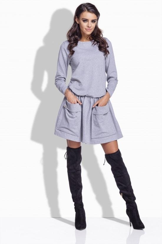 8d26f4fb8099 Bavlnené šaty s vreckami - Lemoniade - Šaty pre voľný čas - vasa ...
