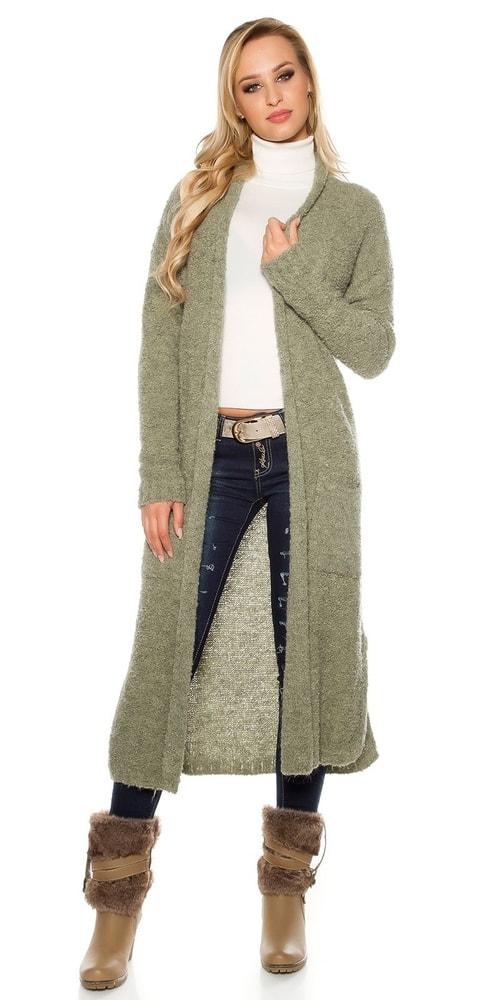 fe3350307883 Mohérový sveter - Koucla - Cardigany dámske - vasa-moda.sk