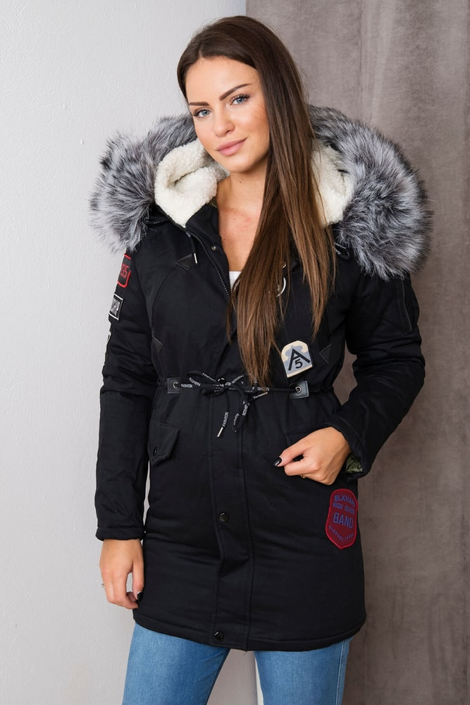 0ec15027a7 Zimná dámska bunda s kapucňou - Kesi - Bundy dámske zimné - vasa ...