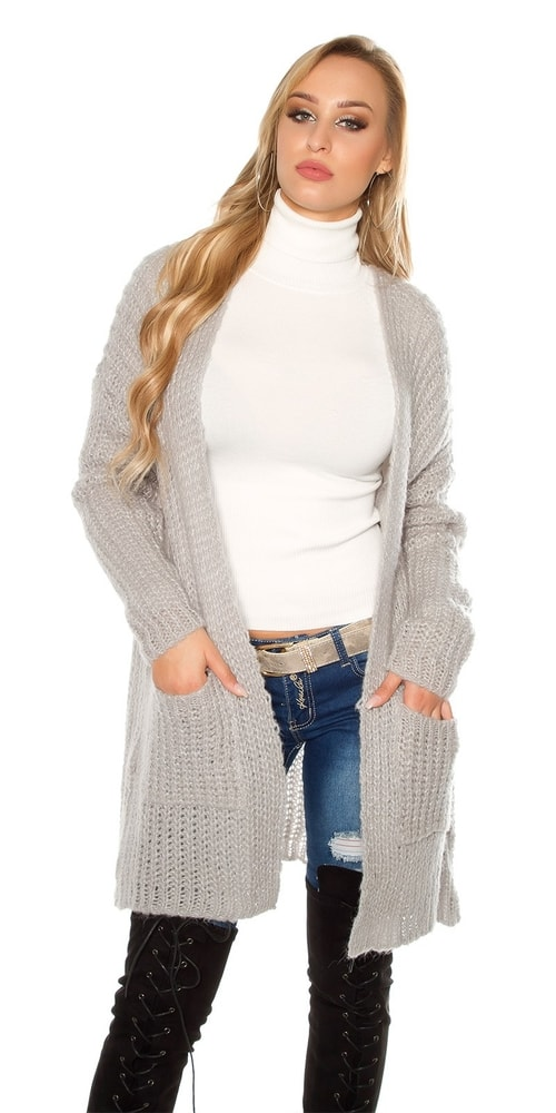 5461de2399da Dámsky pletený sveter - Koucla - Cardigany dámske - vasa-moda.sk