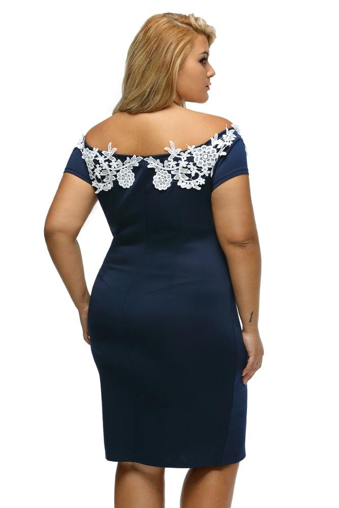 8fe8749c0e4f Spoločenské dámske šaty XXL - DAMSON - Spoločenské šaty pre ...