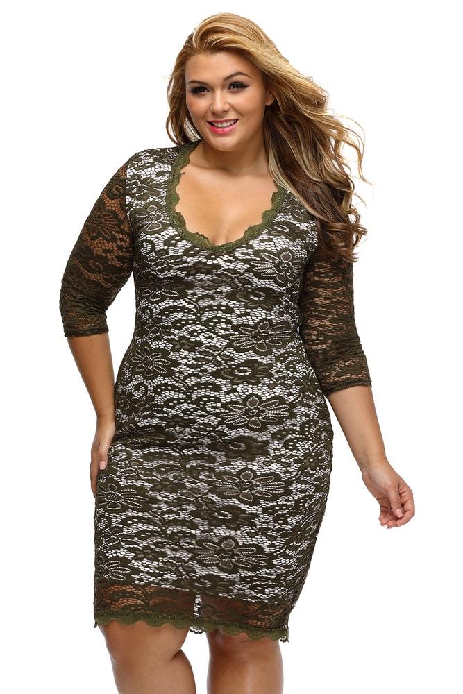 75a1d0685ebc Spoločenské šaty XXL - DAMSON - Spoločenské šaty pre plnoštíhle ...