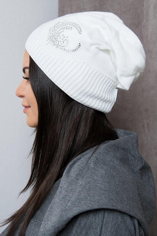 74bb470b4 Čiapka dámska biela - Kesi - Dámske čiapky - vasa-moda.sk