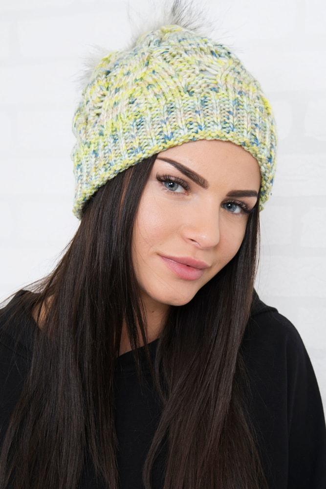 5572a6b4c Pletená dámska čiapka - Kesi - Dámske čiapky - vasa-moda.sk