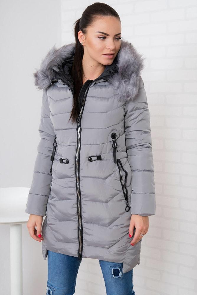 ec9b90bedff04 Dámska zimná bunda - Kesi - Bundy dámske zimné - vasa-moda.sk
