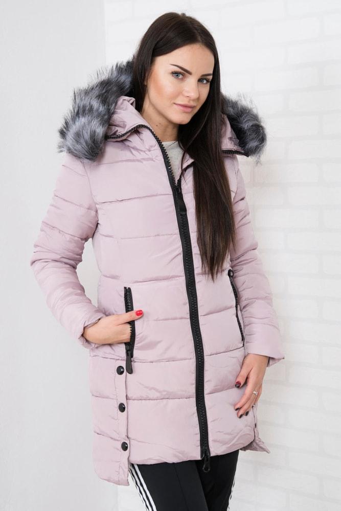 3177e9e65e97 Dámska zimná bunda s kapucňou - Kesi - Bundy dámske zimné - vasa ...