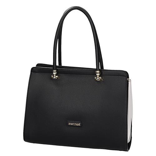 7513e93a35 Černá elegantní kabelka - Monnari - Kabelky cez rameno - vasa-moda.sk