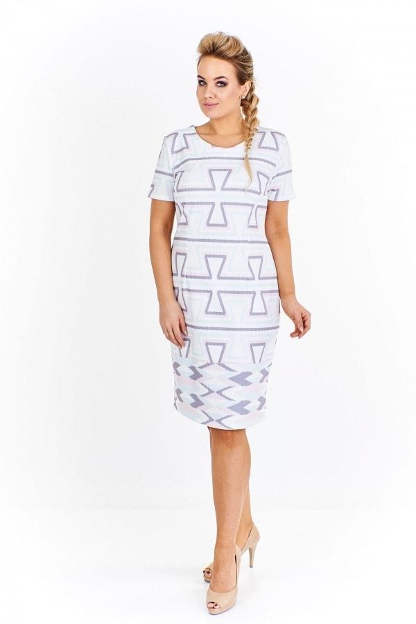 081d71548c10 Dámske šaty plus size - Ptakmoda - Spoločenské šaty pre plnoštíhle ...