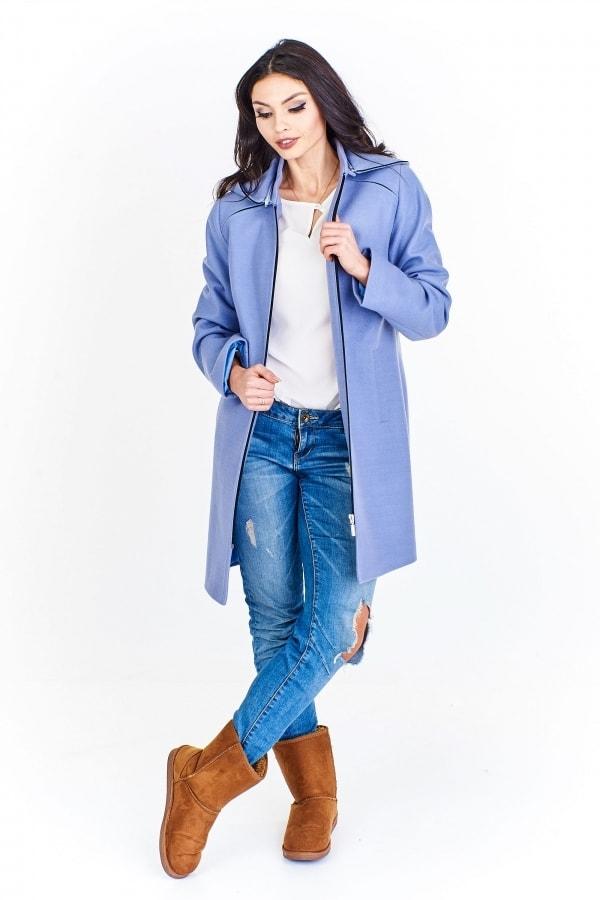 b02a4d06e8 Dámsky vlnený kabát - Ptakmoda - Dámske kabáty jesenné - vasa ...