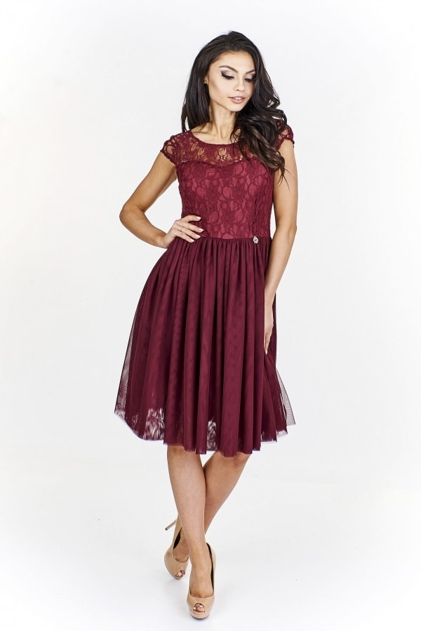 9cf27d214e4c Dámske spoločenské šaty - Ptakmoda - Krátke plesové šaty - vasa ...