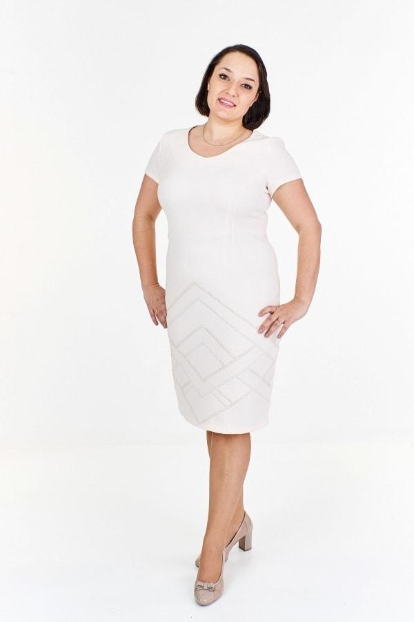 cd6223bba1da Dámske elegantné šaty plus size - Ptakmoda - Spoločenské šaty pre ...