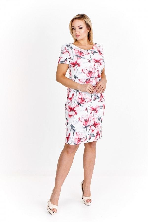 d15718aae746 Elegantní letní šaty - Ptakmoda - Letní šaty pro plnoštíhlé - i-moda.cz