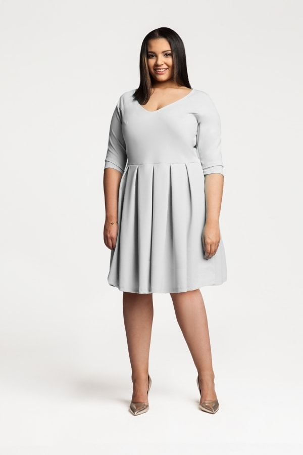 23c37119c3d4 Koktejlové dámské šaty plus size - Ptakmoda - Společenské šaty pro ...