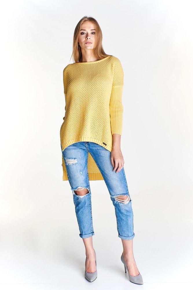 344d671f22f0 Asymetrický dámsky sveter - Ptakmoda - Dámske svetre - vasa-moda.sk