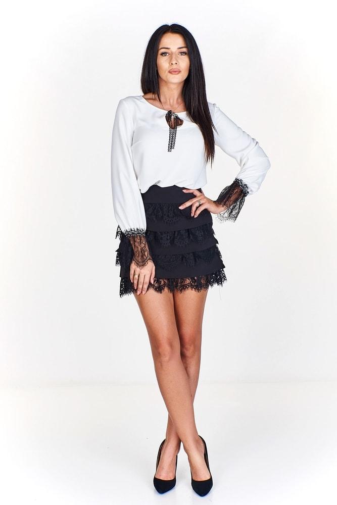 7606a0df633a Dámská sukně s krajkou - Ptakmoda - Dámské sukně - i-moda.cz
