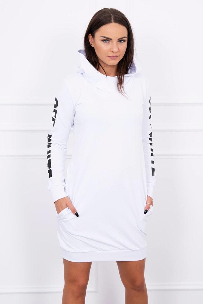 d41372aba176 Športové šaty s kapucňou - Kesi - Dámske mikiny dlhé - vasa-moda.sk