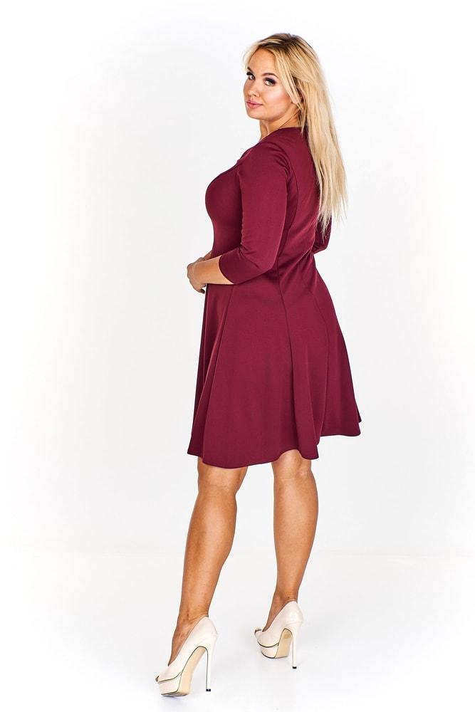 2b91b0879598 Elegantné dámske šaty - Ptakmoda - Spoločenské šaty pre plnoštíhle ...
