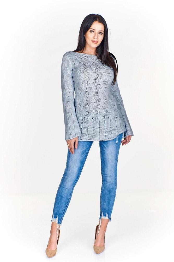 bcee0916fb62 Dámsky pletený sveter - Ptakmoda - Dámske svetre - vasa-moda.sk