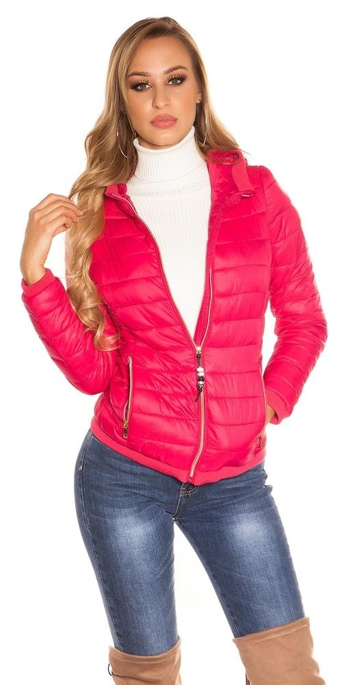 54990978452e Jesenná bunda s kapucňou - Koucla - Bundy dámske jarné a jesenné ...